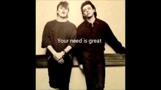 Tears For Fears - Memories Fade w/ lyrics