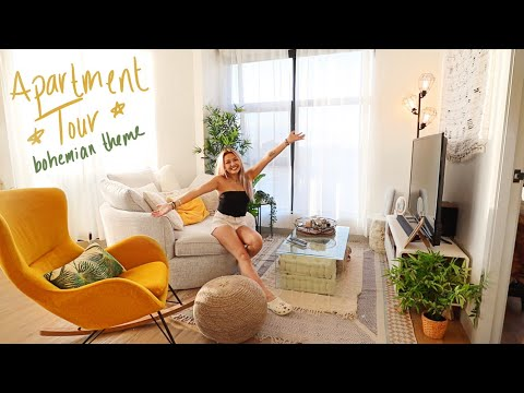 A 16 year olds Apartment Tour (bohemian modern)