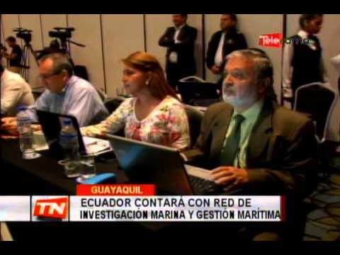 Ecuador contará con red de investigación marina y gestión marítima