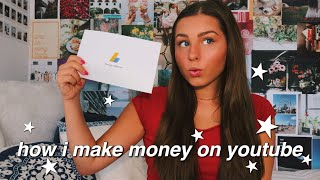 my first youtube paycheck + how to start a successful youtube channel 2019 | isabelle dyer
