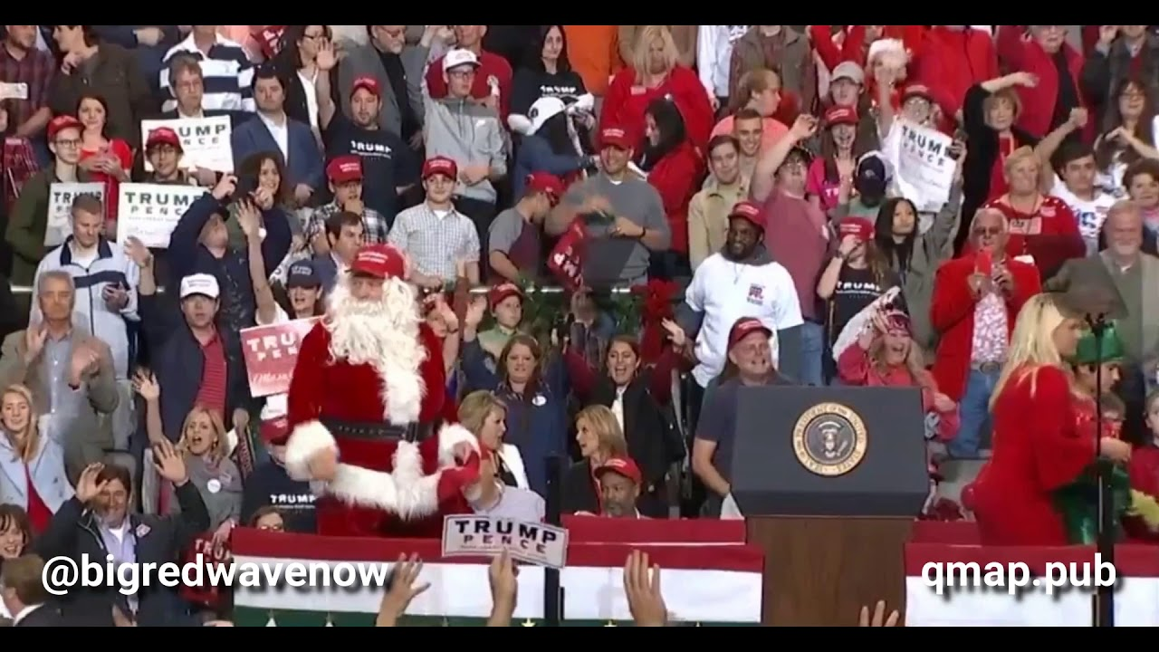 Time For a #Happy #Moment! Santa Claus Of The United States! - YouTube