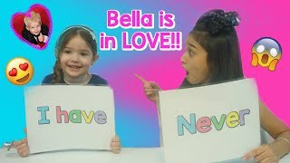 Never have I ever Challenge!! Bella is in LOVE with Michael from Family Fun Pack!!!!😱😱😱