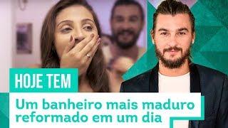 Transformando um banheiro pequeno - Com Beto Siqueira - CASA DE VERDADE