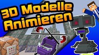 3D Modelle ANIMIEREN - [Deutsch/HD]