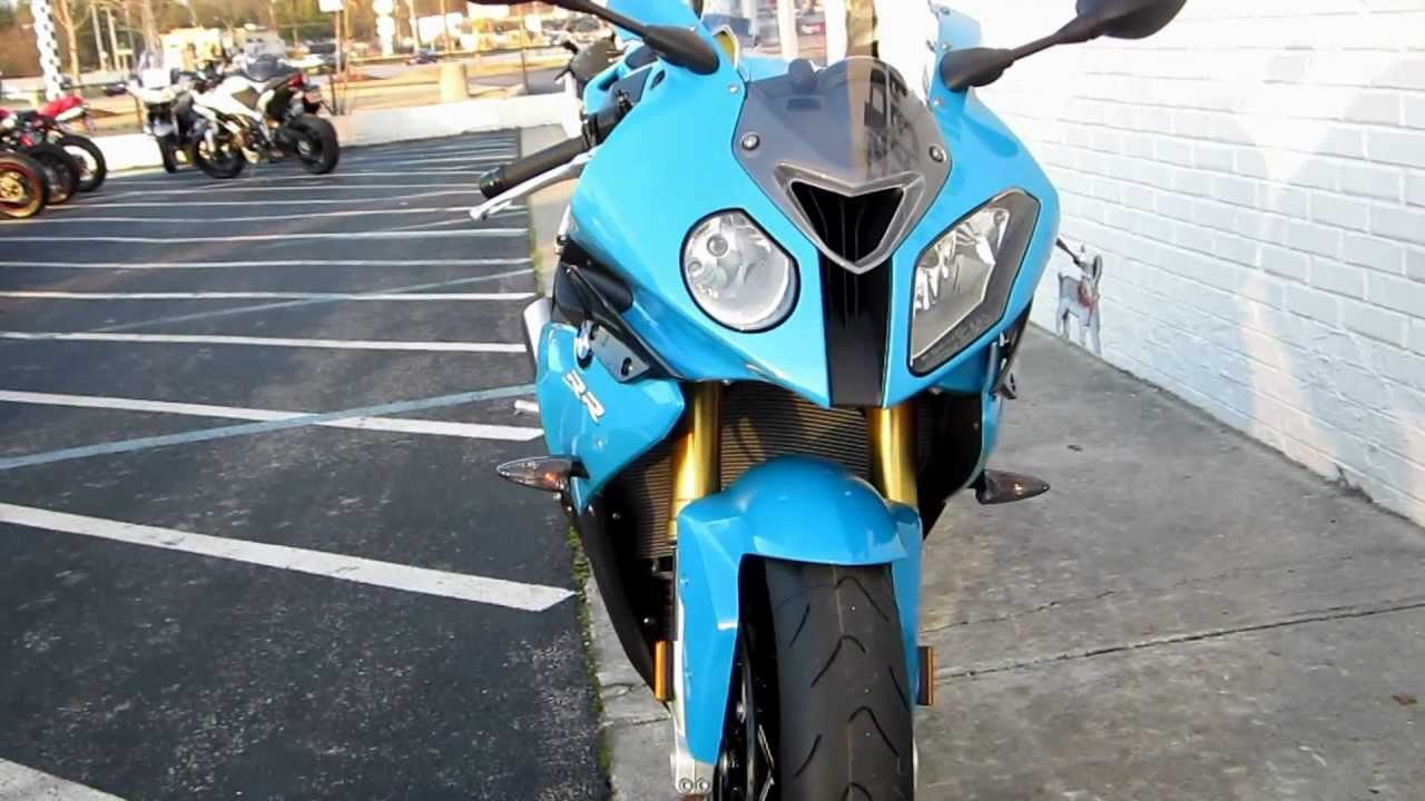 2012 Bmw S1000rr Blue At Pandora S Motorsports Youtube