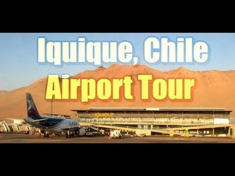 Iquique Chile AIRPORT TOUR (IQQ)
