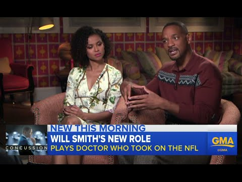 Will Smith, Gugu MbathaRaw on Starring in 'Concussion'