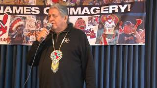 American Indian Movement West 7th Ann. Conference- Bill Means History of AIM anthem