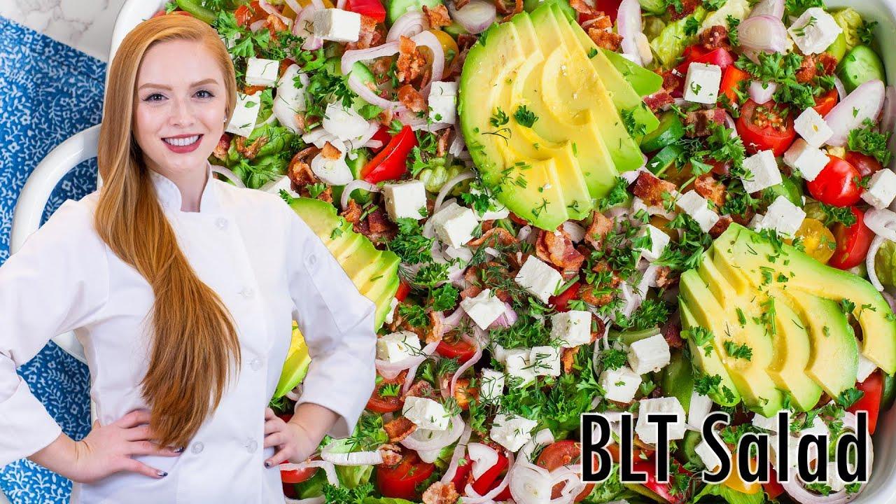 The Best BLT Salad Recipe!