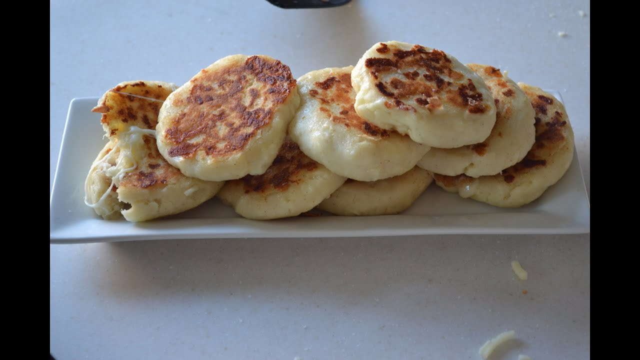 Colombian Arepas De Queso Recipe Youtube