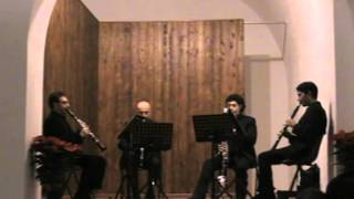 Levante Clarinet Quartet - Funeral March of a Marionette
