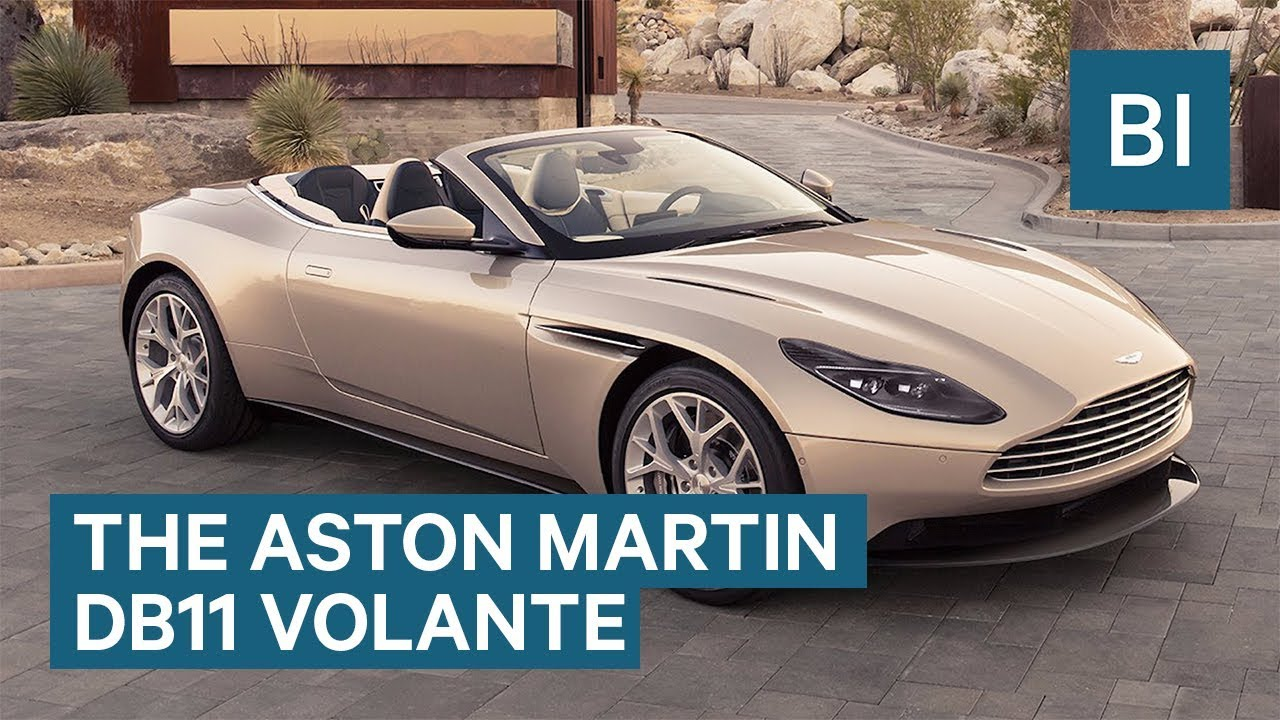 The Next Great Aston Martin Convertible Has Arrived Youtube