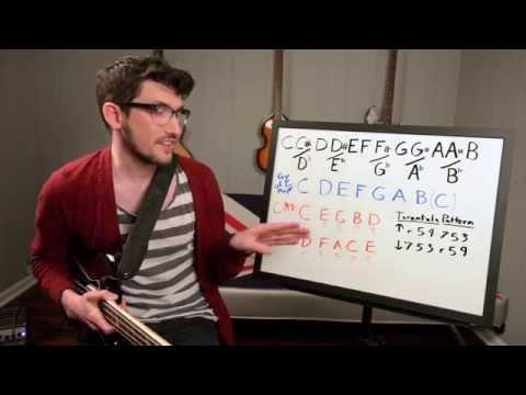 Tarantula Bass Exercise – Diatonic Arpeggios Up and Down the Neck
