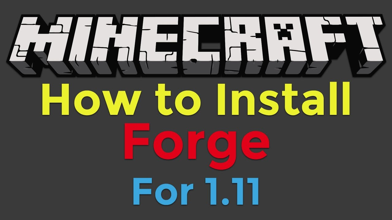 how to use minecraft forge