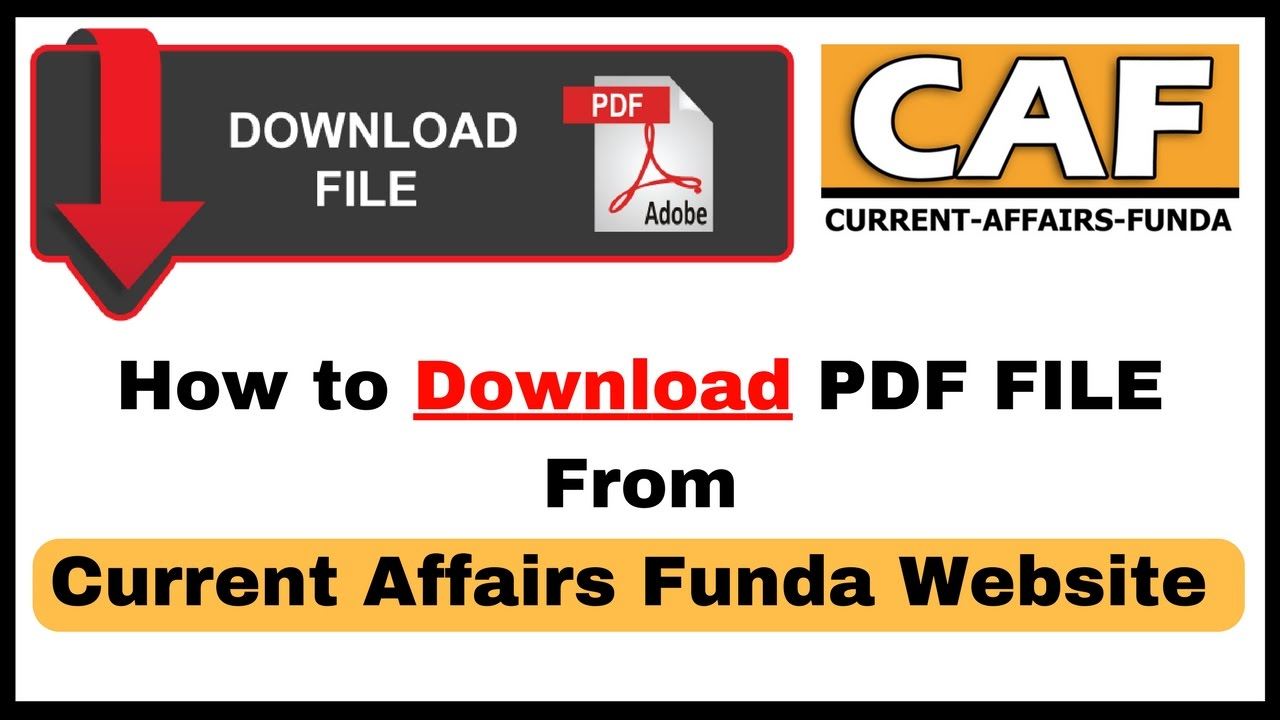 Latest Current Affairs Pdf File