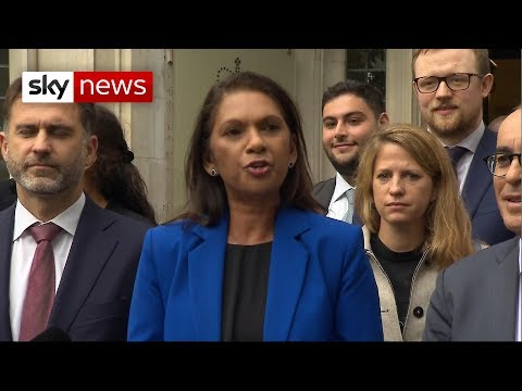 BREAKING NEWS: Gina Miller says ruling against suspension should mean 'opening of parliament'
