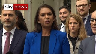 Gina Miller says ruling against suspension should mean 'opening of parliament'