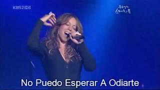 Mariah Carey - H.A.T.E.U - (Subs Español) Live 2009