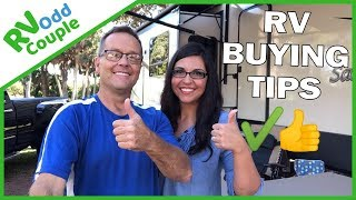 Purchasing an RV Tips & Things We Did Right | RV Advice for New RV Owners