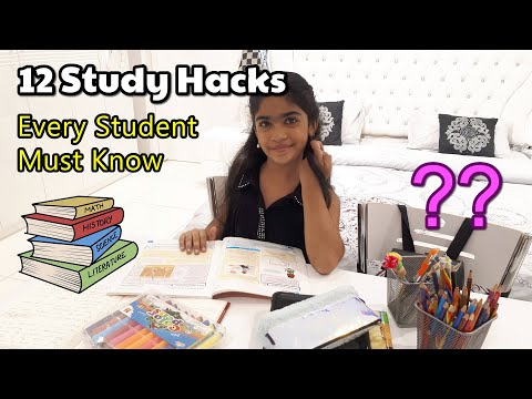 Study Hacks Every Student Must Know | Study Tips To get Better grades | Kids Explorer
