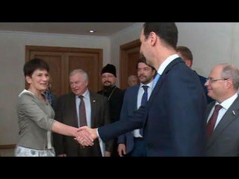 Башар Асад встретился
