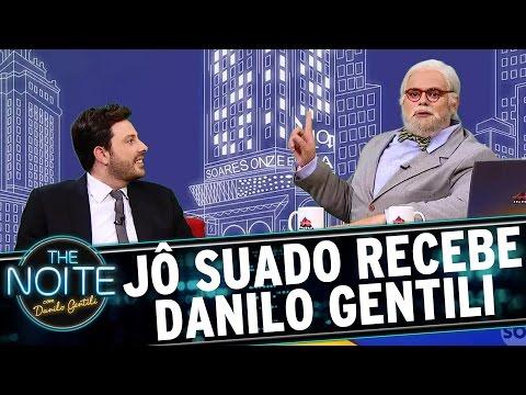 Jô Suado entrevista Danilo Gentili  The Noite 090317