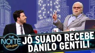 Jô Suado entrevista Danilo Gentili | The Noite (09/03/17)