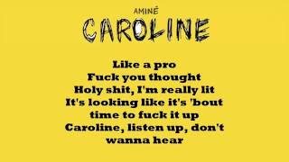 Aminé Caroline (LYRICS) // WITH DOWNLOAD