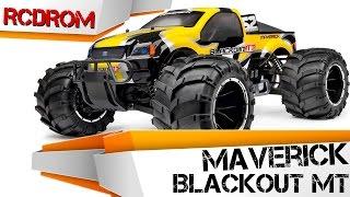 MAVERICK BLACKOUT MT. Обзор радиоуправляемой бензиновой машины