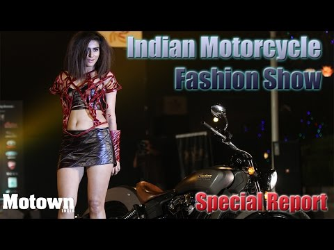 Indian Motorcycle Fashion Show | Special Feature | Motown India