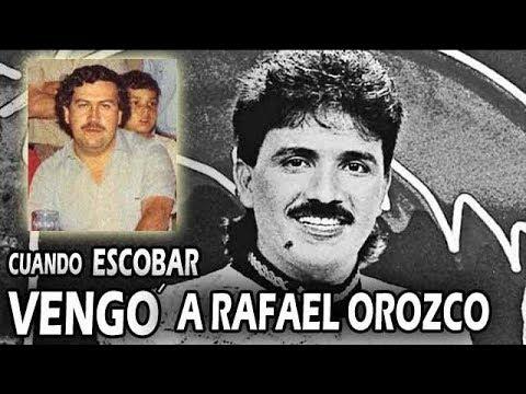 Cuando PABLO ESCOBAR VENGÓ la muerte de Rafael Orozco