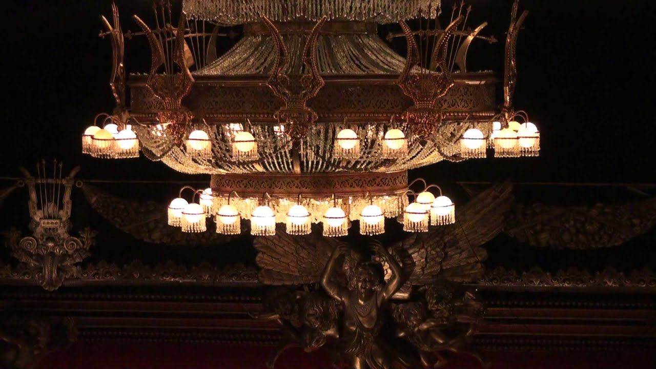 New York Majestic Theater 看歌劇魅影 The Phantom Of The Opera
