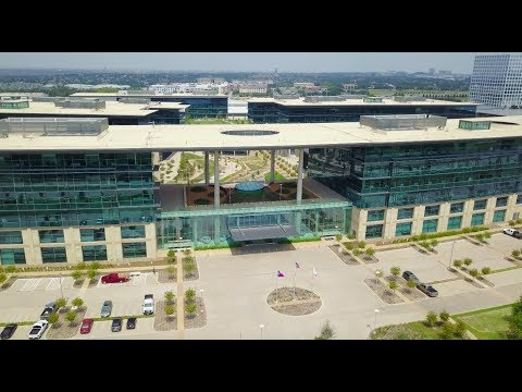 Plano TX -  Toyota Headquarters - Legacy West Aerial Photography