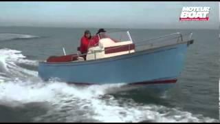 RHEA 23 Open - Vidéo moteur boat
