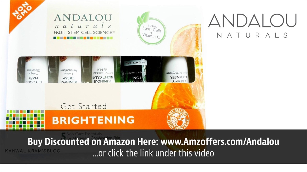 Brightening Pumpkin Honey Glycolic Mask by andalou naturals #6