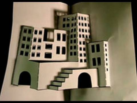 Make a 3d paper city youtube for Build a 3d house online