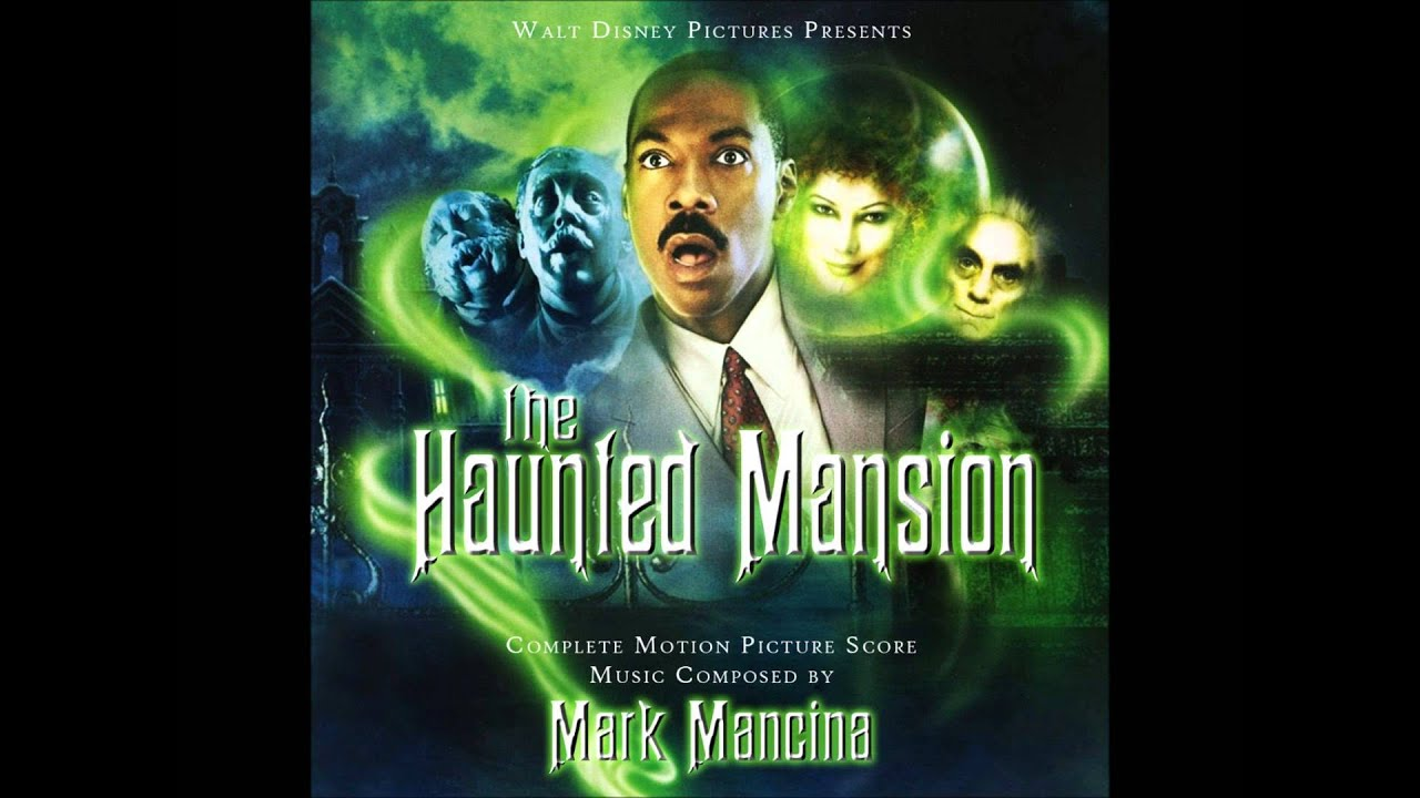 the haunted mansion complete score disney logo
