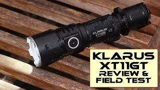 Klarus XT11GT Tactical LED torch: Review and Test
