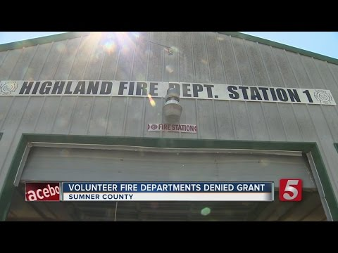 Volunteer Fire Departments In Need Of New Lifesaving Equipme