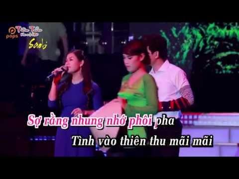 Karaoke Nối Lại Tình Xưa - Song ca với saobien