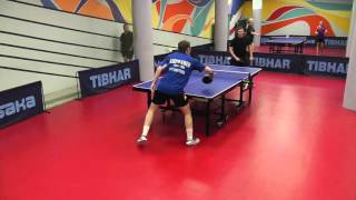 Кирпанев Н. - Некрашенко А. командный микст-турнир ТТплэй 07.05.16 table tennis
