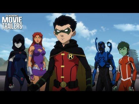 Justice League vs. Teen Titans - DC Universe Animated Movie Trailer