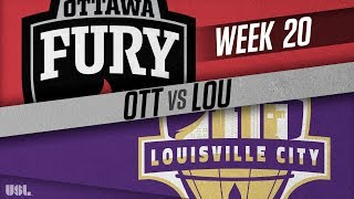 Ottawa Fury FC vs Louisville City FC: July 28, 2018