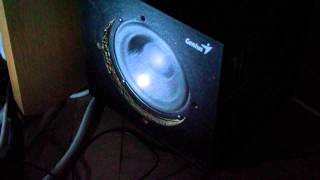 Subwoofer Bass Test ( Genius SW-V2.1 1250 )