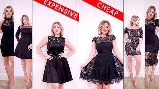 Comparing Cheap vs Expensive LITTLE BLACK DRESSES   Milabu