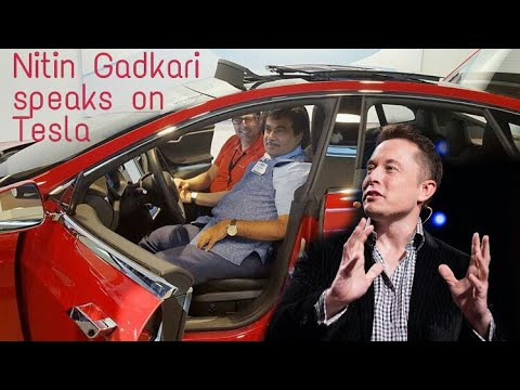 Tesla in India || Nitin Gadkari on tesla || Tesla Motors