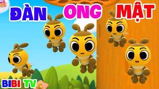 Đàn Ong Mật 🐝 Nhạc Thiếu Nhi Hoạt Hình Vui Nhộn 🐊 Chú Chuột Nhắt, Chuột Trộm Trứng