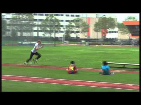Long Jump Box Drills with Ajamu Olaniyan | Doovi