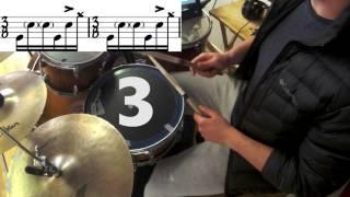 "Karnivool - ""Nachash"" Drum Lesson (Advanced)"