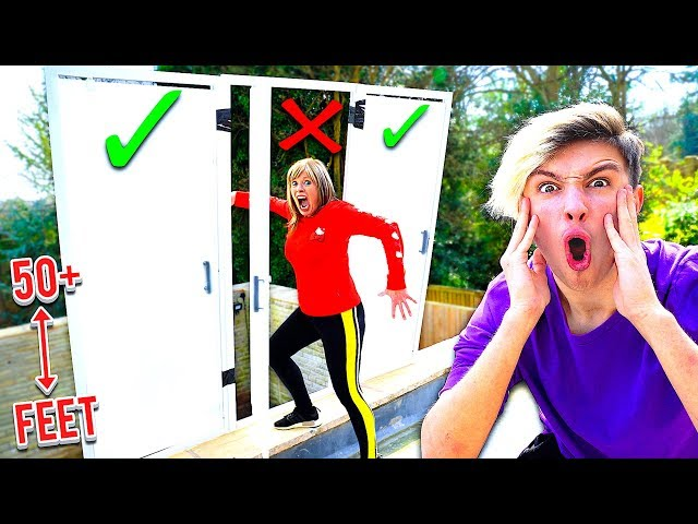DONT Open The WRONG Mystery Door - Challenge